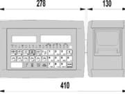 indikátor s tlačiarňou