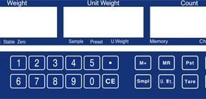 AHC - klávesnica