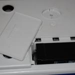 AHW – umiestnenie batérie