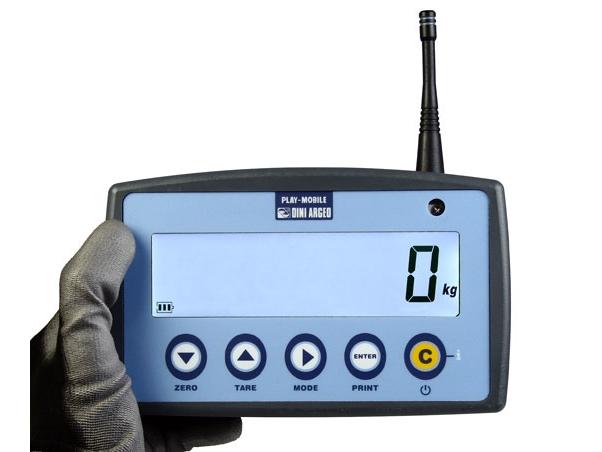 diaľkový ovládač s displejom DFWPM