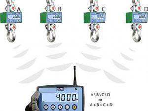 MCWN - paralelné spojenie váh