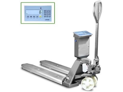 paletový vozík s váhou TPWLKI